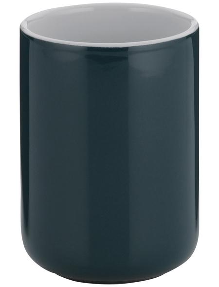 KELA Zahnputzbecher »Isabella«, Keramik, braun, rund