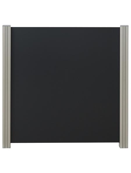 MR. GARDENER Zaun-Grundelement, Aluminium, HxL: 97 x 90 cm