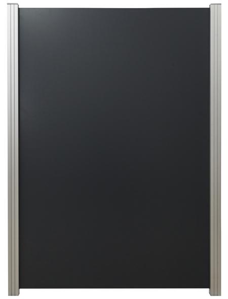 MR. GARDENER Zaunelement, Aluminium, HxL: 180 x 122 cm