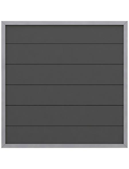 TraumGarten Zaunelement »Design«, Holz-Polymer-Werkstoffe (WPC), HxL: 180 x 90 cm