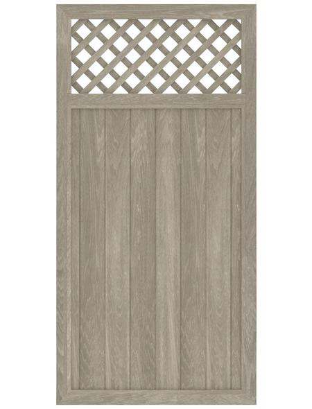TraumGarten Zaunelement »LL RIVA«, Kunststoff, LxH: 180 x 180 cm