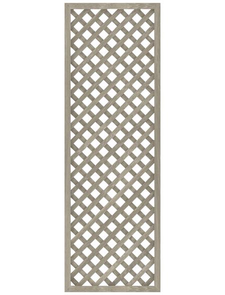 TraumGarten Zaunelement »LL RIVA«, Kunststoff, LxH: 8 x 105 cm