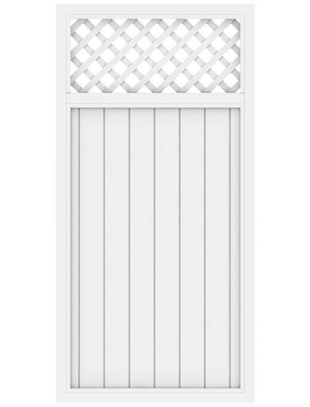 TraumGarten Zaunelement »LL RIVA«, Kunststoff, LxH: 98 x 180 cm