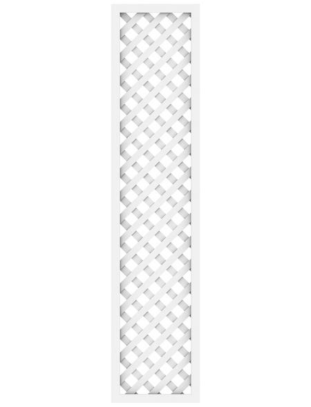 TraumGarten Zaunelement »Longlife allgemein«, Kunststoff, LxH: 40 x 180 cm
