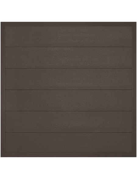 MR. GARDENER Zaunelement »Moglia«, WPC, HxL: 180 x 180 cm