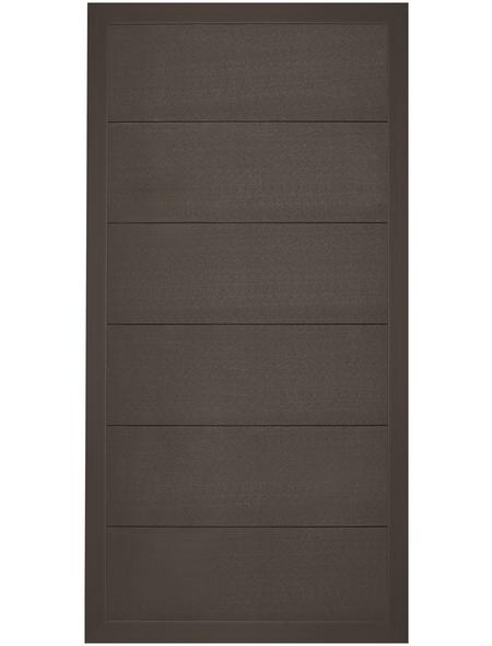 MR. GARDENER Zaunelement »Moglia«, WPC, HxL: 180 x 90 cm