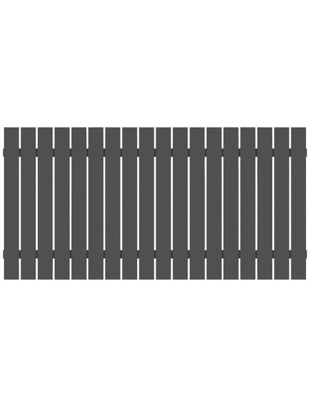 TraumGarten Zaunelement »SQUADRA «, HxL: 90 x 180 cm, anthrazit