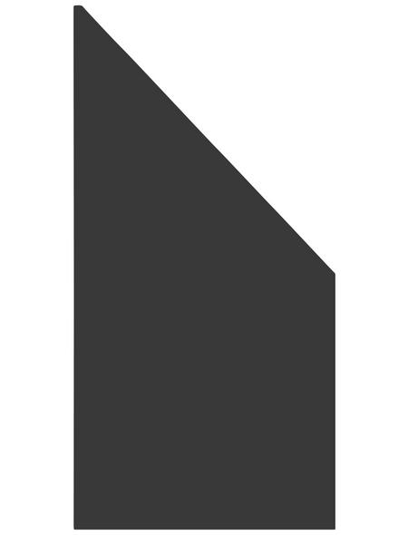 TraumGarten Zaunelement »System Board/HPL/ACP«, Holz-Kunststoff-Verbundwerkstoff, LxH: 90 x 180 cm