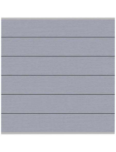 TraumGarten Zaunelement »System XL«, Holz-Polymer-Werkstoffe (WPC), LxH: 10 x 5 cm