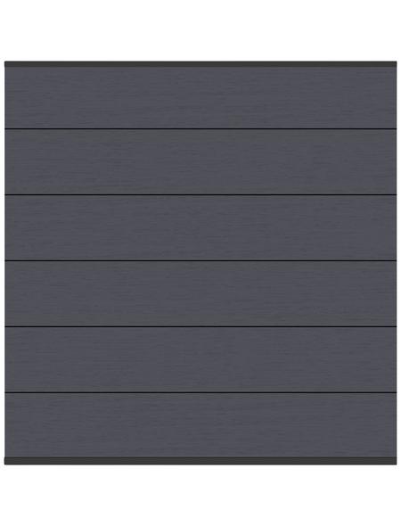 TraumGarten Zaunelement »System XL«, Holz-Polymer-Werkstoffe (WPC), LxH: 178 x 183 cm