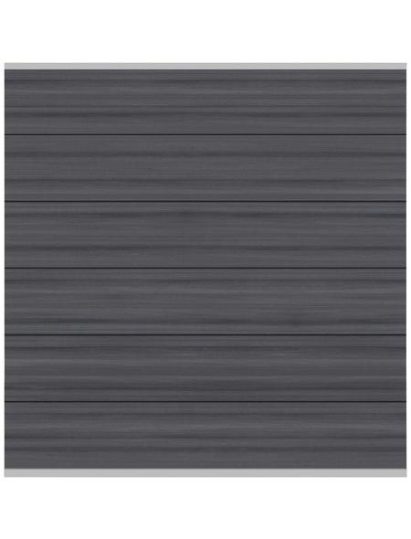 TraumGarten Zaunelement »System XL«, Holz-Polymer-Werkstoffe (WPC), LxH: 178 x 30 cm