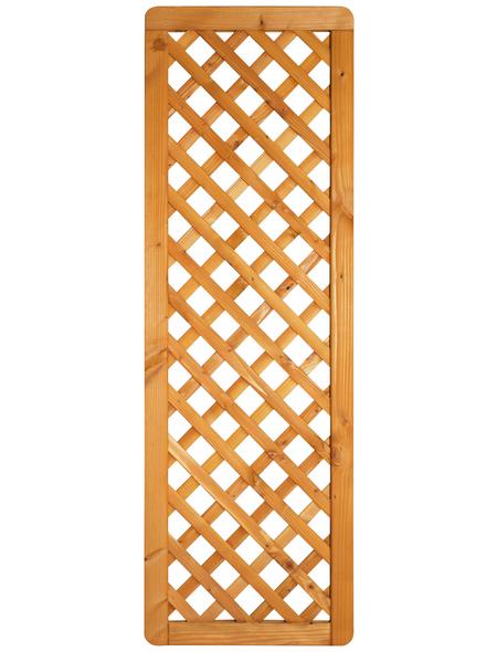 MR. GARDENER Zaunelement »Westerland«, DouGlasienholz, HxL: 180 x 60 cm