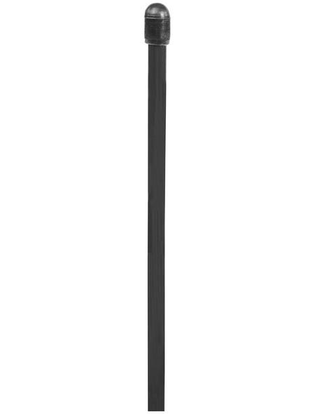 FLORAWORLD Zaungeflecht-Spannstab, BxHxT: 0,6 x 130 x 0,6 cm, grau, für Zaungeflecht