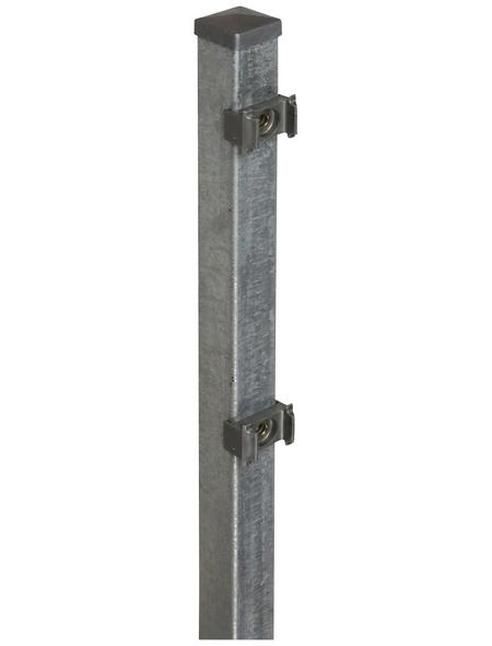 FLORAWORLD Zaunpfosten »Classic«, Stahl, BxHxL: 4 x 4 x 100 cm