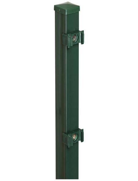 FLORAWORLD Zaunpfosten »Classic«, Stahl, BxLxT: 4 x 125 x 4 cm