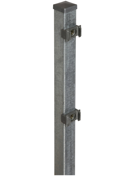 FLORAWORLD Zaunpfosten »Classic«, Stahl, BxLxT: 4 x 150 x 4 cm