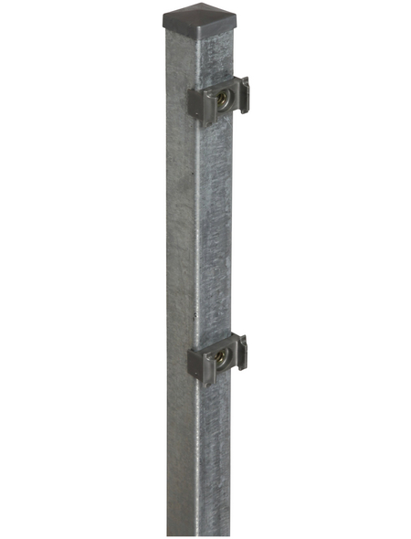 FLORAWORLD Zaunpfosten »Classic«, Stahl, BxLxT: 4 x 200 x 4 cm