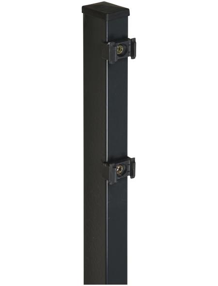 FLORAWORLD Zaunpfosten »Comfort«, Stahl, BxHxL: 6 x 4 x 120 cm