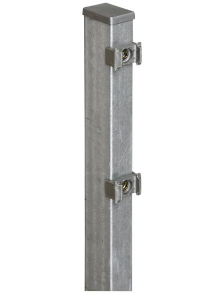 FLORAWORLD Zaunpfosten »Comfort«, Stahl, BxLxT: 6 x 140 x 4 cm