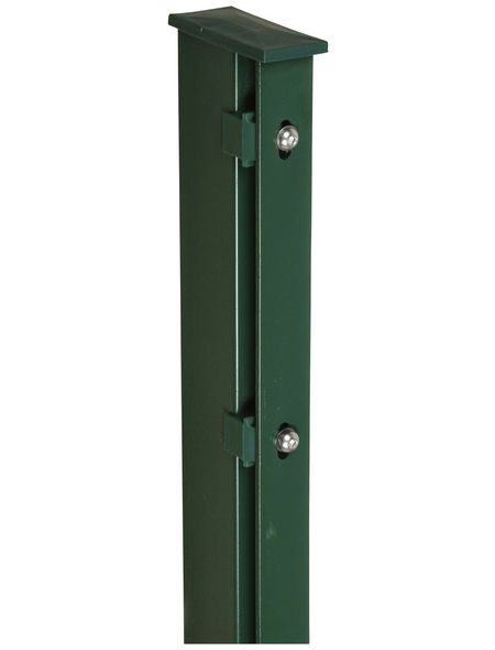 FLORAWORLD Zaunpfosten, Stahl, BxHxL: 6 x 4 x 200 cm