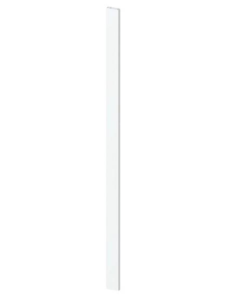 TraumGarten Zaunprofil, HxBxT: 180  x 2,8  x 8,2  cm, weiß, für Serie CARA