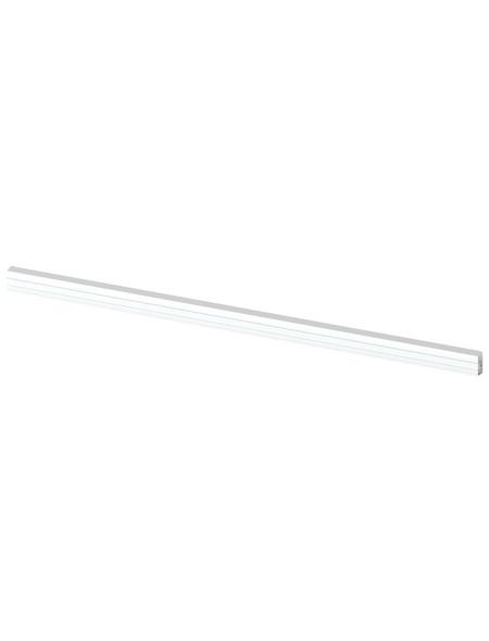 TraumGarten Zaunriegel, HxBxT: 180  x 3,5  x 8,2  cm, weiß, für Serie CARA