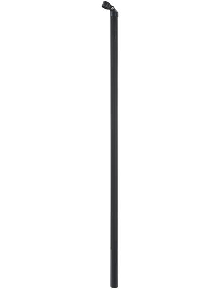 FLORAWORLD Zaunstrebe, BxHxT: 3,4 x 150 x 3,4 cm, grau, für Zaun