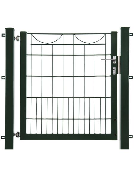 FLORAWORLD Zauntor »Bogenreihe«, HxL: 100 x 100 cm, Stahl, grün