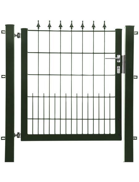 FLORAWORLD Zauntor, HxL: 100 x 100 cm, Stahl, grün