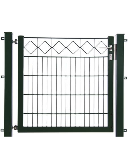 FLORAWORLD Zauntor, HxL: 80 x 100 cm, Stahl, grün