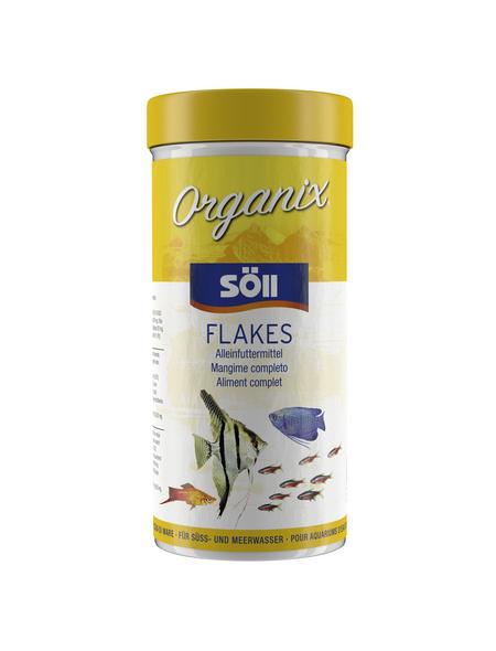 SÖLL Zierfischfutter »Organix«, Kelp / Fisch, 0,49 l