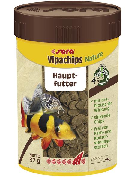 sera Zierfischfutter »Vipachips Nature«, Aqua, 100 ml (37g )