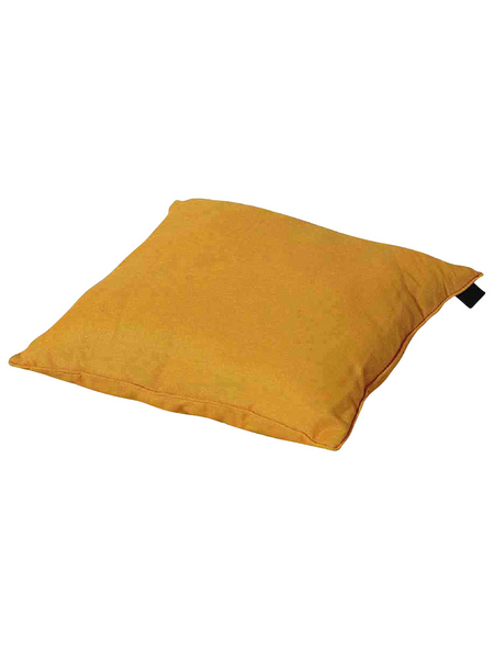MADISON Zierkissen »Panama«, gelb, Uni, BxL: 45 x 45 cm