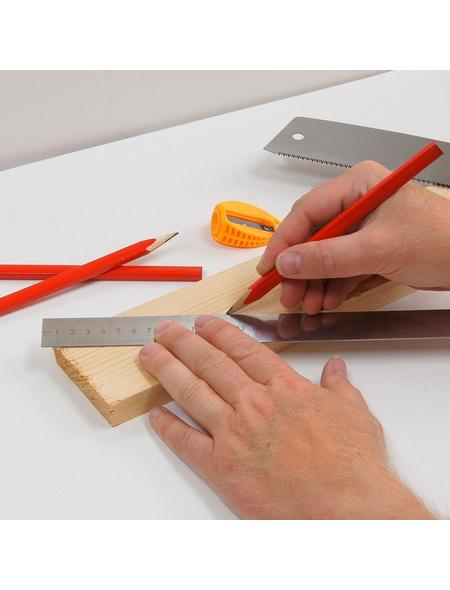 CONNEX Zimmermannsbleistift, 17,5 cm, 7-tlg. Set