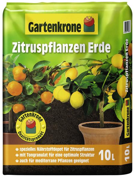 GARTENKRONE Zitruspflanzernerde, für mediterrane Pflanzen