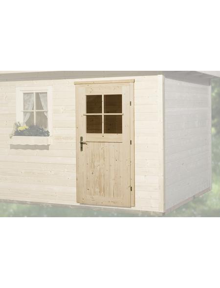 WEKA Zusatztür für Gartenhäuser, Holz