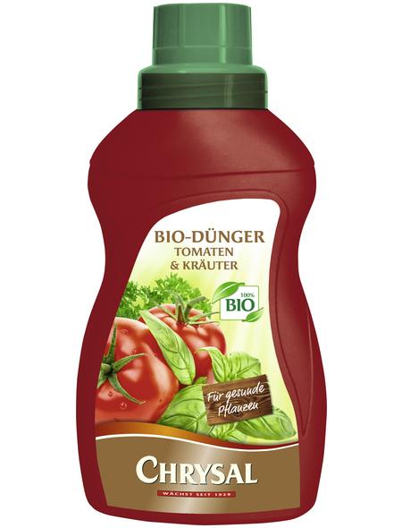 Chrysal Zweinährstoffdünger »9383«, NK-Dünger, flüssig, für Bio-Gartenbau, Tomaten und Kräuter