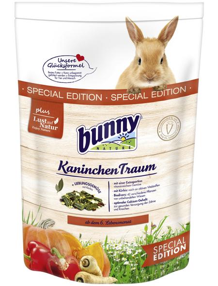 BUNNYNATURE Zwergkaninchenfutter »KaninchenTraum Special Edition«, für Zwergkaninchen ab dem 6. Lebensmonat