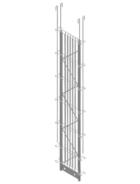 BELLISSA Zwischenpfosten »PALOfix 200«, HxL: 120 x 26,5 cm, Stahl