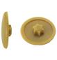 GECCO Abdeckkappe, TX10, PE, hellbraun, Ø 12 mm, 50 St.-Thumbnail