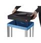 HAILO Abfalleimer »Big-Box Swing XL«, silberfarben-Thumbnail