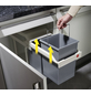 HAILO Abfalleimer »Multi Box«, silberfarben-Thumbnail