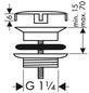 HANSGROHE Ablaufventil »DN 32«, Metall-Thumbnail