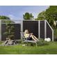 MR. GARDENER Abschlusselement »Moglia«, Holz-Kunststoff-Verbundwerkstoff, HxL: 180 x 90 cm-Thumbnail