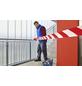 TESA Absperrband, rot/weiß, Breite: 8 cm, Länge: 100 m-Thumbnail