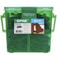 SPAX Abstandhalter für Dielen, LxBxH: 6 x 2 x 0,8 cm, Schwarz, Kunststoff-Thumbnail