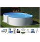 SUMMER FUN Achtformbecken-Set,  achtform, B x L x H: 350 x 650 x 120 cm-Thumbnail