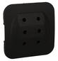 KOPP Adapter 3-fach schwarz 3x 2,5 A-Thumbnail