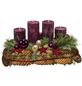 Adventsgesteck, altrot dekoriert-Thumbnail