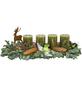 Adventsgesteck, olive dekoriert-Thumbnail